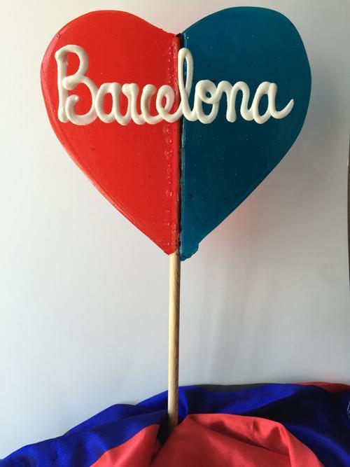 Daydi Ref 0116 Corazón Grande Azulrojo Barcelona